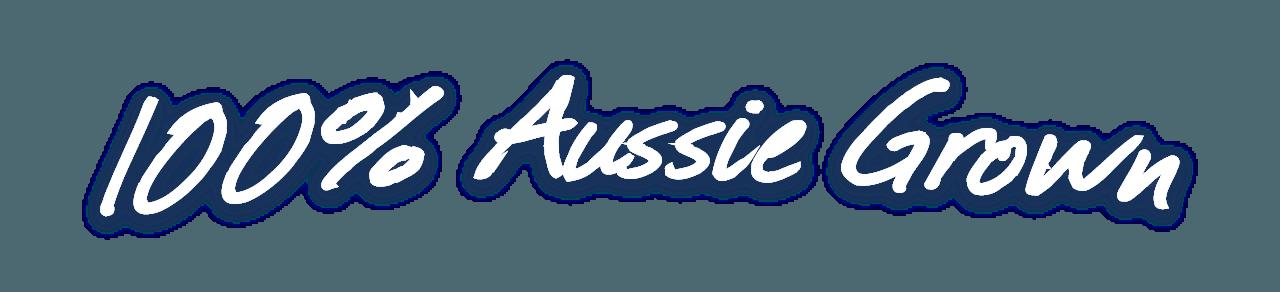 100% Aussie Grown