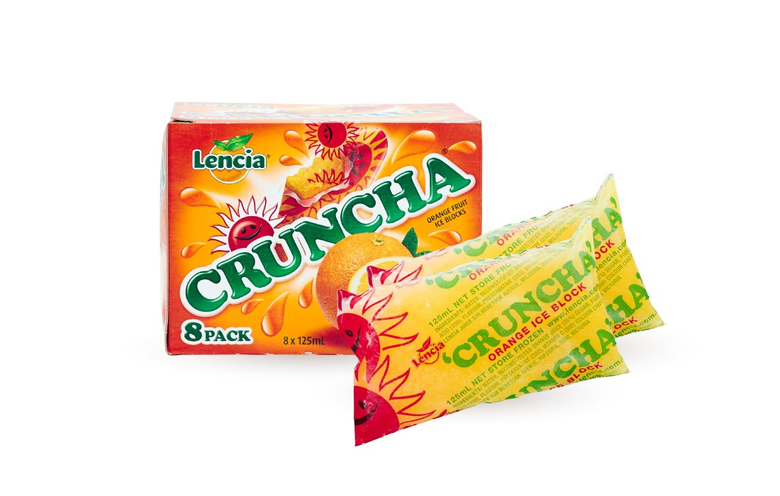 Cruncha Fruit Ice Block