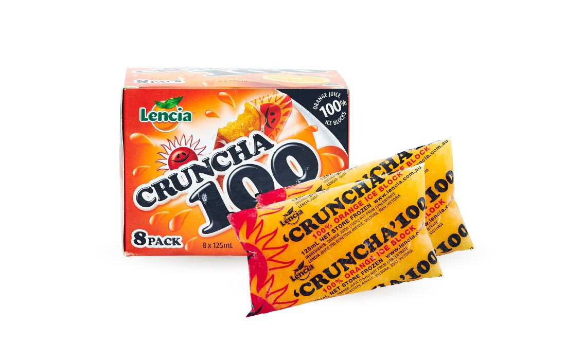 Cruncha 100 Orange Block