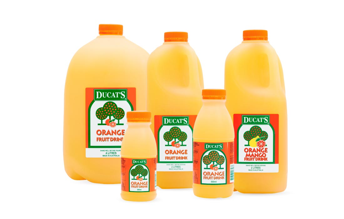 Lencia Fruit Juice Drink Range